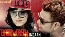 Badmash Insaan Lyrics – K K