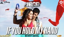 If You Hold My Hand Lyrics from ABCD 2