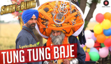 Tung Tung Baje Lyrics from Singh is Bling