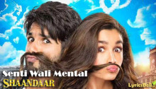 Senti Wali Mental Lyrics from Shaandaar