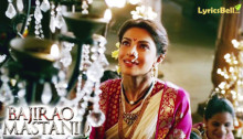 Mohe Rang Do Laal Lyrics from Bajirao Mastani