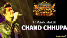 Chand Chupa Lyrics by Armaan Malik