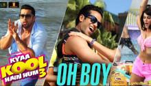 Oh Boy Lyrics from Kyaa Kool Hain Hum 3