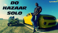 Do Hazaar Solo Lyrics by Raftaar