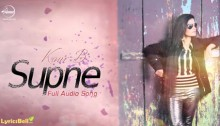Supne Lyrics by Kaur B