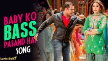 Baby Ko Bass Pasand Hai Lyrics from Sultan