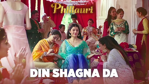 Din Shagna Da Lyrics from Phillauri