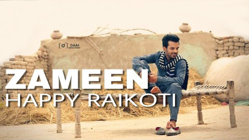 Zameen Lyrics by Happy Raikoti