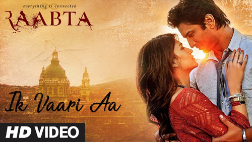 Ik Vaari Aa Lyrics by Raabta by Arijit Singh