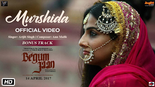 Murshida Lyrics from Begum Jaan