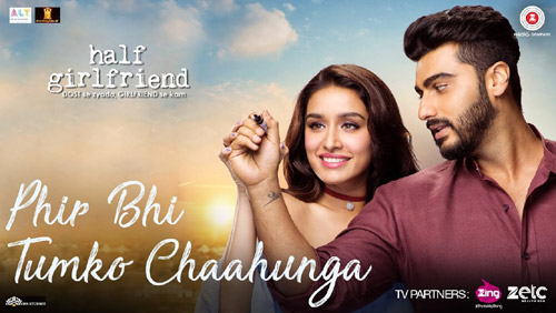 Phir Bhi Tumko Chahunga Lyrics from Half Girlfriend