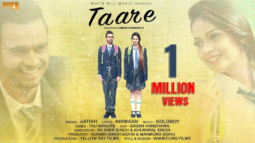 Taare Lyrics by Aatish
