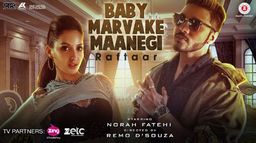 Baby Marvake Maanegi Lyrics by Raftaar