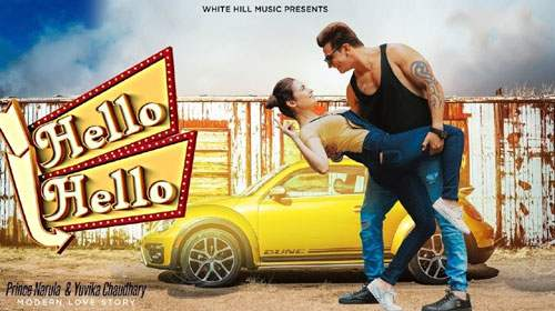 Hello Hello Lyrics by Prince Narula