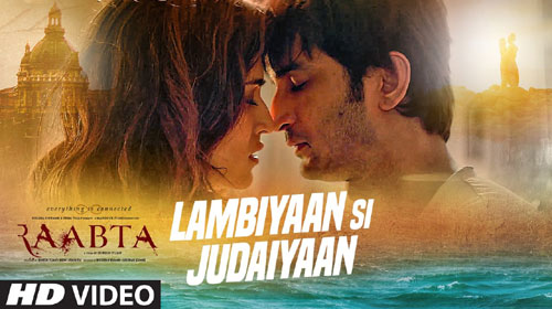 Lambiyaan Si Judaiyaan Lyrics from Raabta by Arijit Singh