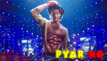 Pyar Ho Lyrics from Munna Michael