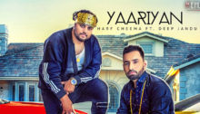 Yaariyan Lyrics by Harf Cheema