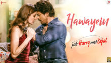 Hawayein Lyrics from Jab Harry Met Sejal