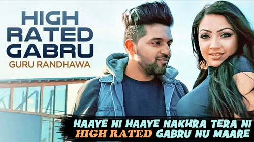 High Rated Gabru Lyrics by Guru Randhawa