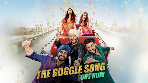 The Goggle Song Lyrics from Mubarakan