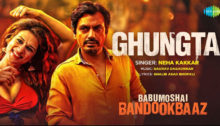 Ghungta Lyrics from Babumoshai Bandookbaaz