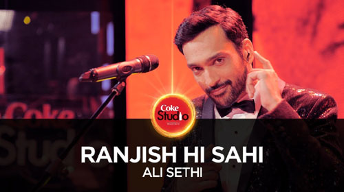 Ranjish Hi Sahi Lyrics of Coke Studio Season 10