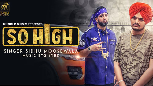 So High Lyrics by Sidhu Moose Wala
