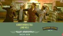 Teen Kabootar Lyrics from Lucknow Central