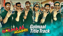Golmaal Title Track Lyrics from Golmaal Again