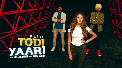 Todi Yaari Lyrics by V Love