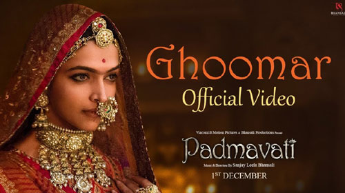 Ghoomar Lyrics from Padmavati