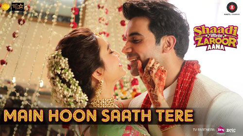 Main Hoon Saath Tere Lyrics from Shaadi Mein Zaroor Aana