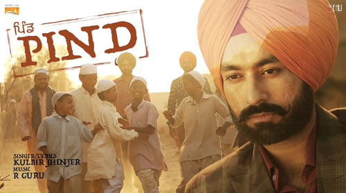Pind Lyrics by Kulbir Jhinjer