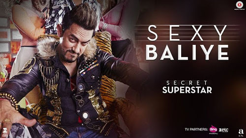 Sexy Baliye Lyrics from Secret Superstar