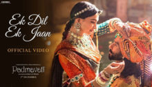 Ek Dil Ek Jaan Lyrics from Padmavati
