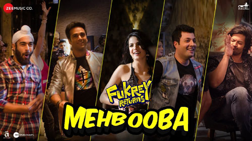 Mehbooba Lyrics from Fukrey Returns