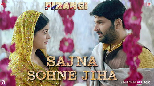 Sajna Sohne Jiha Lyrics from Firangi