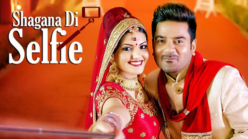 Shagna Di Selfie Lyrics by Ladi Singh