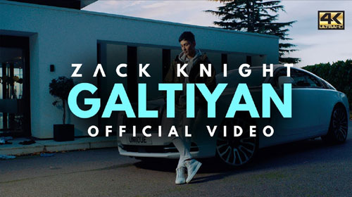 Galtiyan Lyrics by Zack Knight