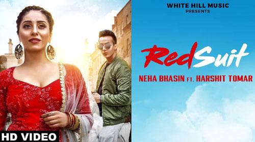 Red Suit Lyrics by Neha Bhasin, Harshit Tomar