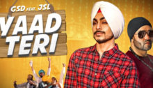 Yaad Teri Lyrics by GSD