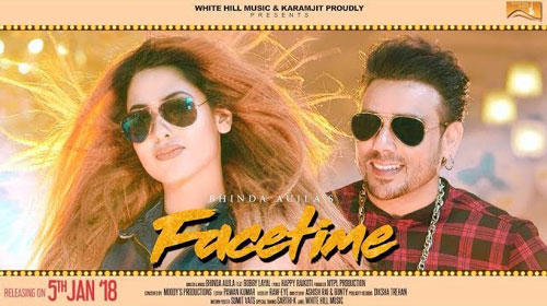 Facetime Lyrics by Bhinda Aujla