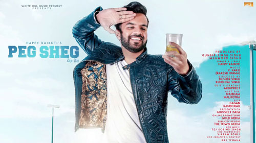 Peg Sheg Lyrics by Happy Raikoti