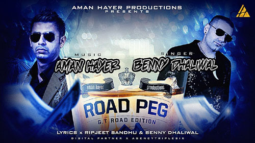 Road Peg Lyrics by Benny Dhaliwal