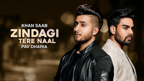 Zindagi Tere Naal Lyrics by Khan Saab