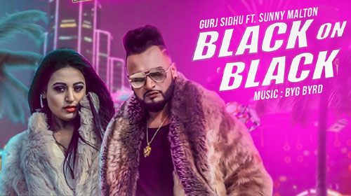 Black On Black Lyrics by Gurj Sidhu