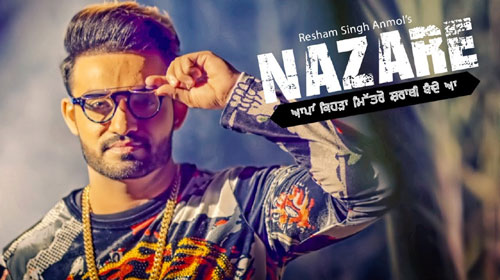 Nazare Lyrics by Resham Singh Anmol