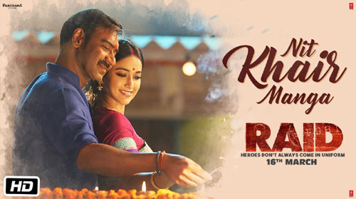 Nit Khair Manga Lyrics from Raid