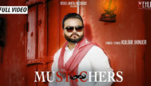 Mustachers Lyrics by Kulbir Jhinjer