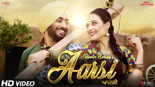 Aarsi (The Mirror) Lyrics by Satinder Sartaaj